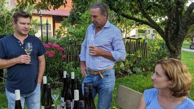 Zu Besuch beim Weingut Hofmann