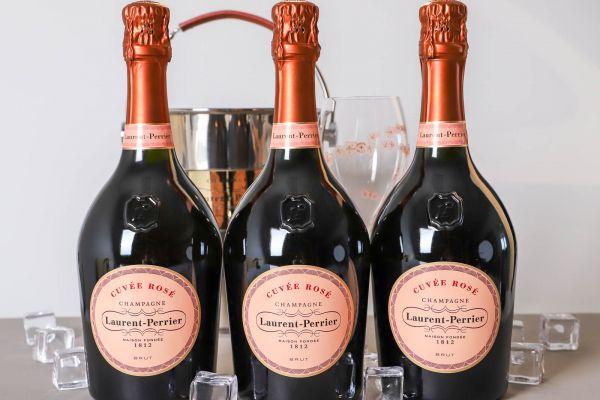 Laurent-Perrier - Champagne Cuvée Rosé Brut 3er-Paket