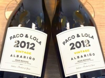 Albariño Vintage 2012