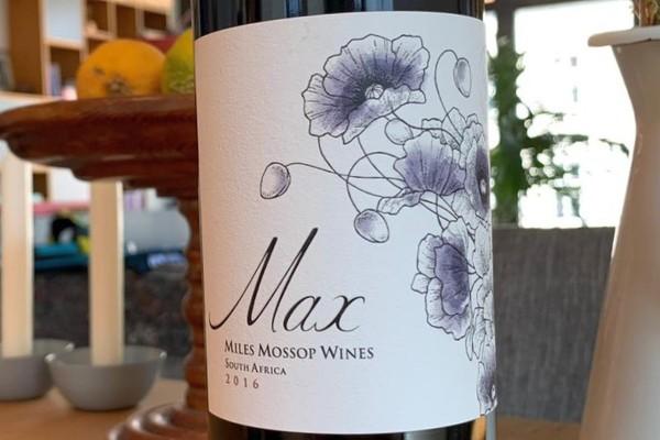 Dry Red Wine 2016 Max