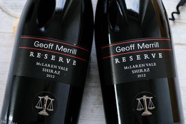 Geoff Merrill - Shiraz Reserve 2012