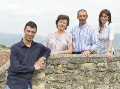 Giordano, Adriana, Lorenzo und Tiliana Begali