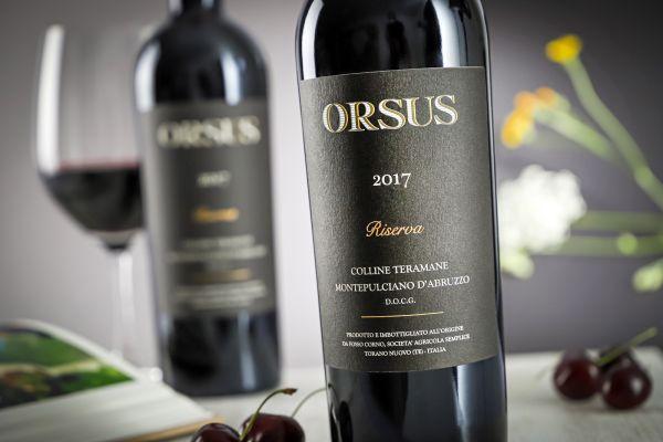 Fosso Corno - Montepulciano Riserva 2017 Orsus