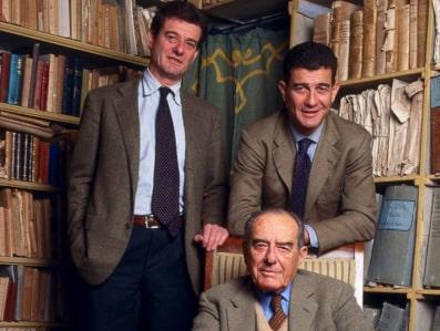 Filippo, Francesco und Lapo Mazzei (vorne)
