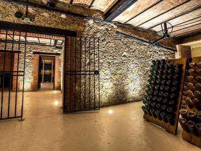 Weinkeller im Hôtel de Venoge