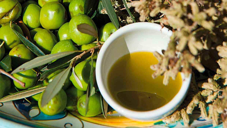 Geschmack Olivenöl