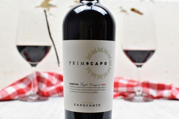 Capoforte - Primitivo 2015 Primocapo