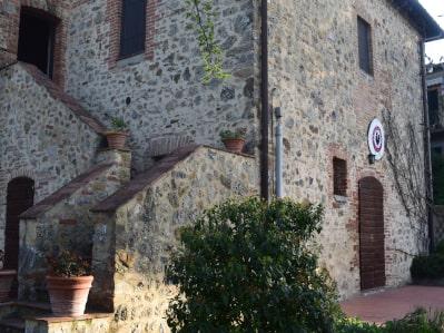Die alte Villa des Weingutes