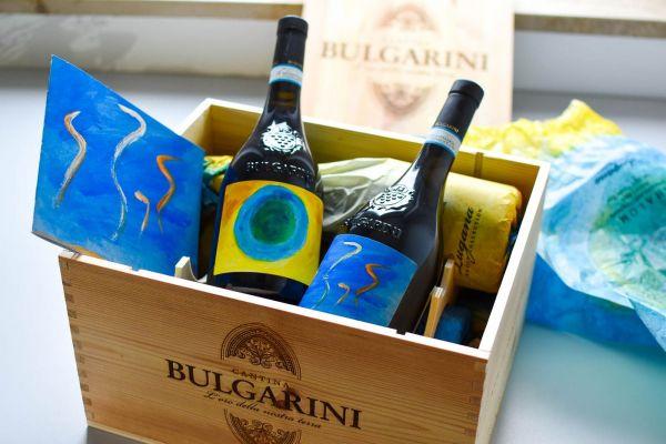 Bulgarini - Lugana 2019 Collezione Artisti (6er Holzkiste)