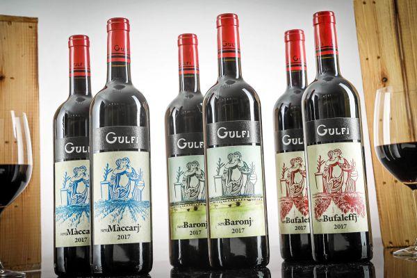 Gulfi - 6er-Paket - 2017er Top-Lagen 3x2 Flaschen