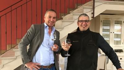 Michael Liebert bei Massimo Sbruzzi von Feliciana