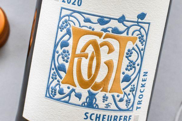 Georg Fogt - Scheurebe 2020 trocken