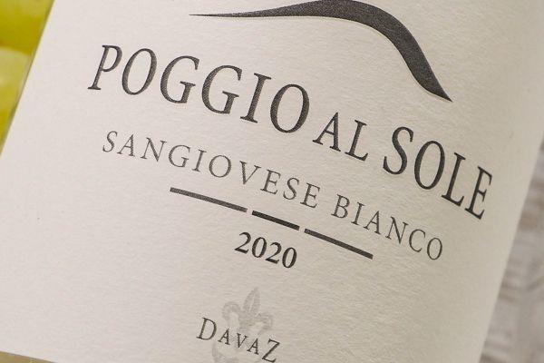 Poggio al Sole  - Sangiovese Bianco 2020 Bio
