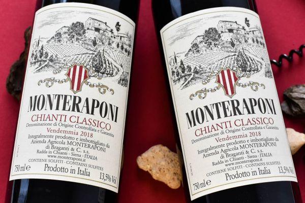 Monteraponi - Chianti Classico 2018 Bio