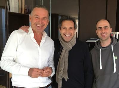 Michael Liebert (li) und Francesco Montresor (m)