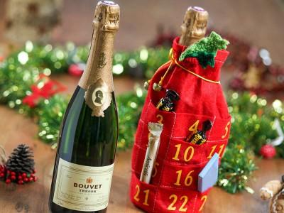 Bouvet - Wein-Adventskalender Tresor Blanc Saumur 2016 Brut