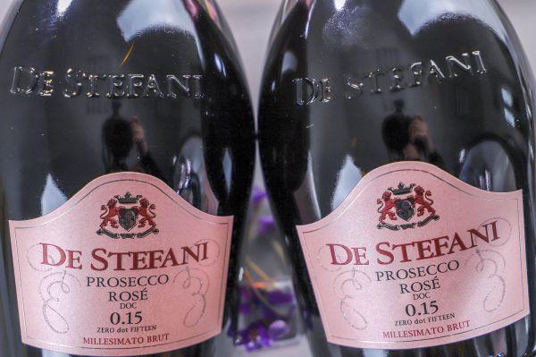 De Stefani - Prosecco Rosé 2020 0.15 Brut