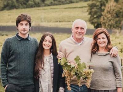 Graziano Pra mit Familie