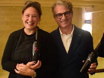 Simona Natale und Gianfranco Fino