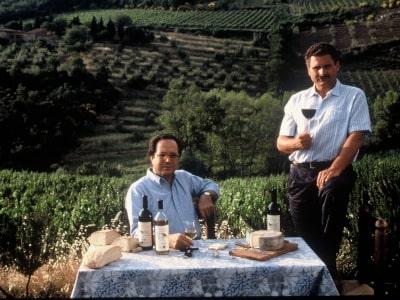 Paolo Panerai und Önologe Maurizio Castelli