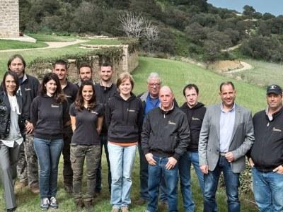 Das Kellerei-Team von Siddùra
