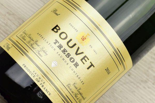 Bouvet - Tresor Blanc Saumur 2016 Brut