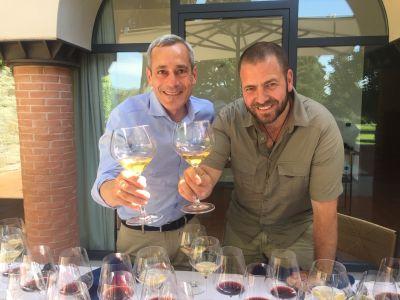 Roberto und Wayne von Querciabella