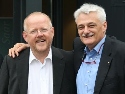 Frank Roeder MW mit Jürgen von der Mark MW