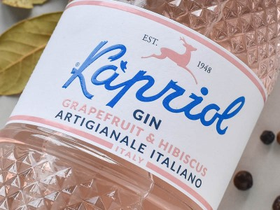 Distilleria dell'Alpe - Kapriol Gin - Grapefruit & Hibiscus