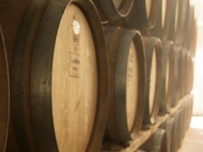 Barriquefässer bei Luddite Wines