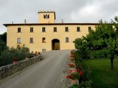 die Villa von Colognole