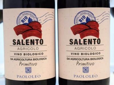 Primitivo 2016 Agricolo Bio