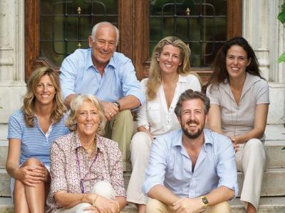 Carlo Guerrieri Gonzaga von San Leonardo mit Familie