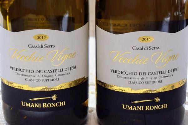 Verdicchio 2015 Vecchie Vigne