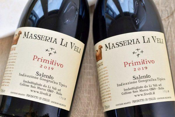 Masseria Li Veli - Primitivo 2019 Askos