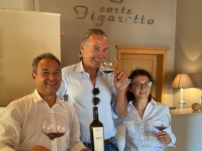 Michael mit Mauro & Tochter Sofia