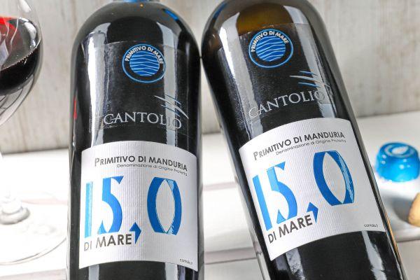 Cantolio - Primitivo di Manduria 2019 di Mare 15,0