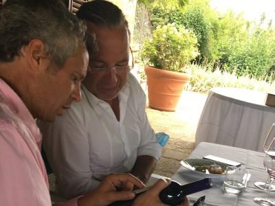 Junior-Chef Alberto Cuseri & Michael Liebert