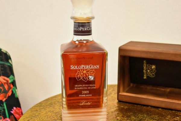 Berta Distillerie - Grappa SoloPerGian 2009 - Fass 80
