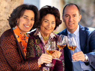 Josè, Gabriella & Antonio Rallo von Donnafugata Wein