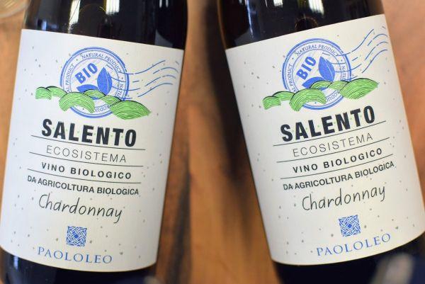 Chardonnay 2019 Ecosistema Bio