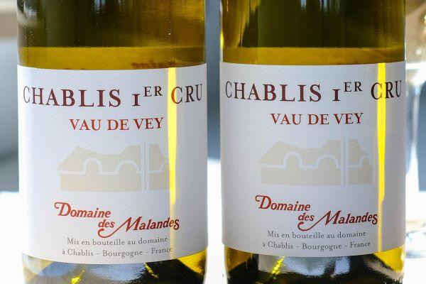 Domaine des Malandes  - Chablis 1er Cru Vau de Vey 2018