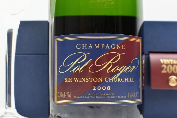 Champagne 2009 Winston Churchill