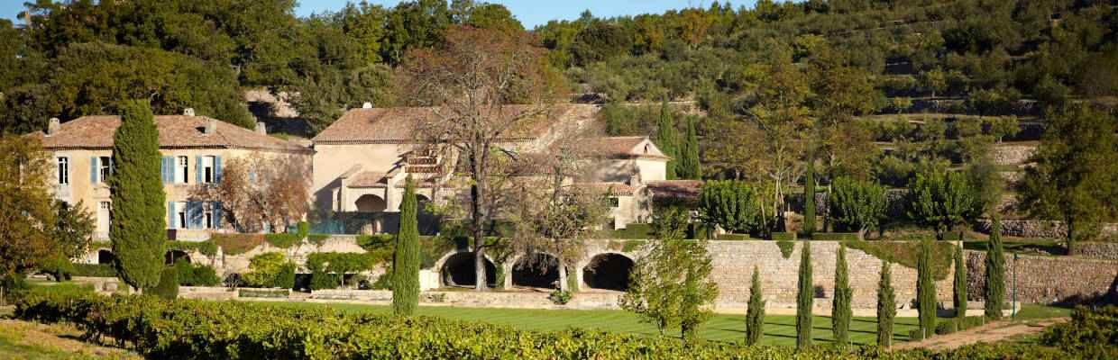 Château Miraval in der Provence