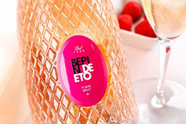 Bepin de Eto - Spumante Rosato Flavé 2020 Brut