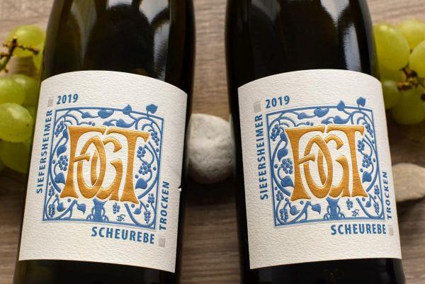 Georg Fogt - Scheurebe 2019 trocken